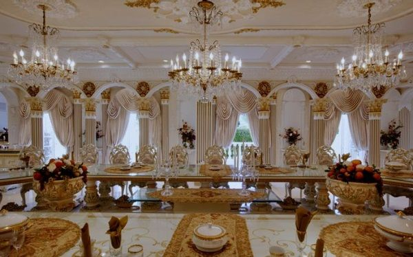 Home of the Day: Versailles of Bel Air | Interiors - white ...