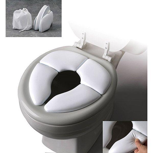 Cushie Traveler - Travel Folding Padded Potty Seat $11.95