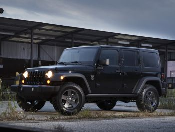 "2011 Jeep Wrangler Unlimited ""Call of Duty: Black Ops"" (JK) '2010"