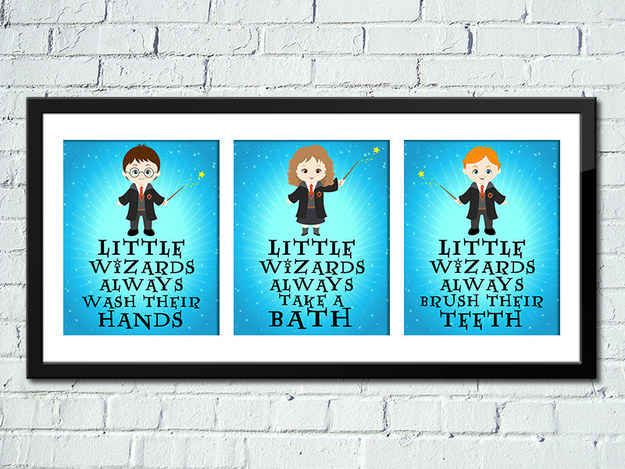 Little Wizards Art Print