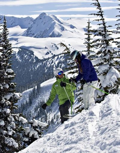 Skiing Whistler #GILOVEBC
