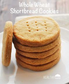 Whole-Wheat Shortbread Cookies.  Hoping that these are a good knockoff of graze shortbread dippers !