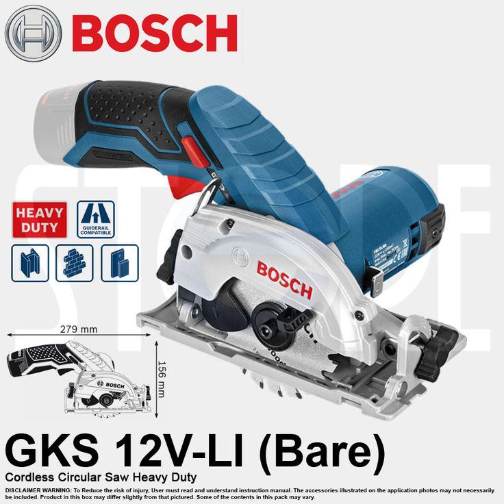 [$155.00](▼9%)[Bosch]Bosch GKS 12V-LI Professional Cordless Circular Saw (Bare Tool)