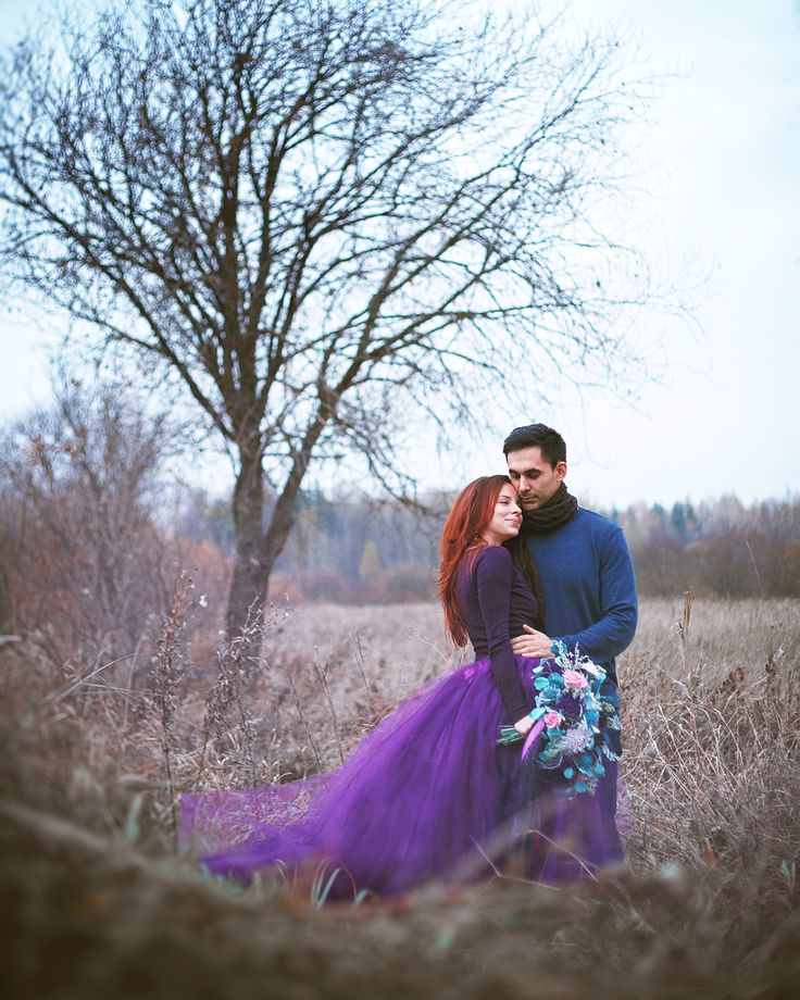Fall photoshoot, handmade polymer clay bouquet, purple mint rose palette