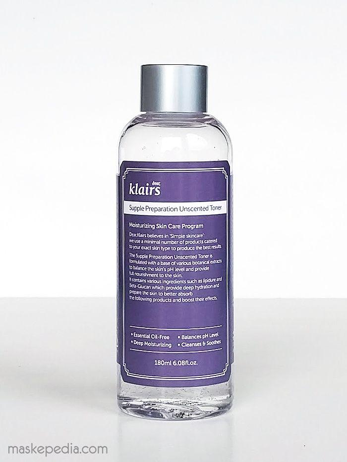 Klairs Unscented Supple Preparation Toner Unscented Toner Skin Care Moisturizer Unscented