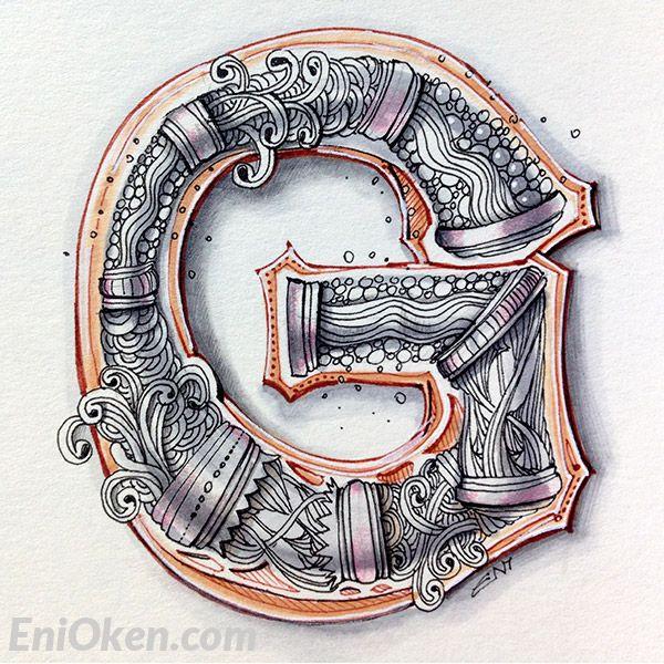 The 454 Best Zentangle Letter Designs Etc Images On Pinterest