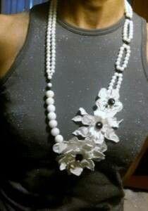 Handmade necklace. Sole piece / Made in Italy