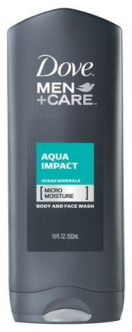 Dove Men+Care Aqua Impact Body Wash 18 oz