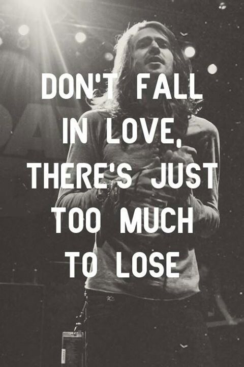 Terrible things - Mayday Parade. My favorite song. Favorite quote.