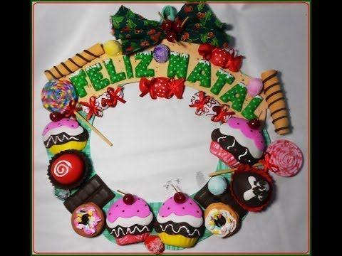 Guirnalda Dulces de Navidad | Todo en GOMA EVA