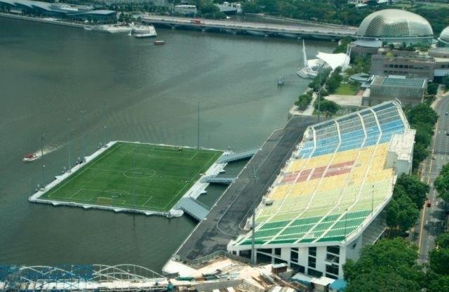 Beyond beautiful! soccer stadium in Singapore