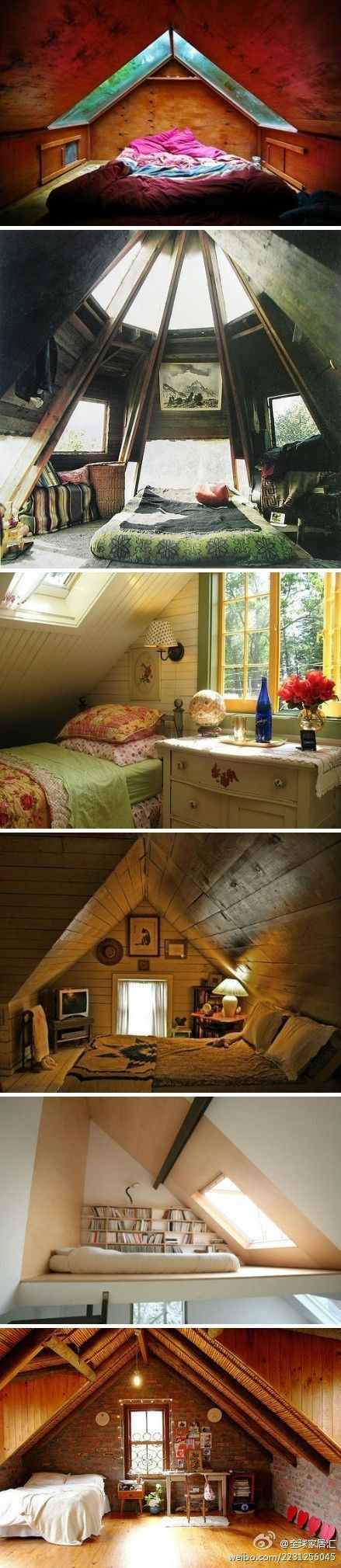 Don't worry you don't always need a boring attic have one of these! These are great places to go and read in, or maybe even take a nice nap!