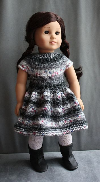 Dress Number 11 - Charcoal by Balancing Kiwi, via Flickr