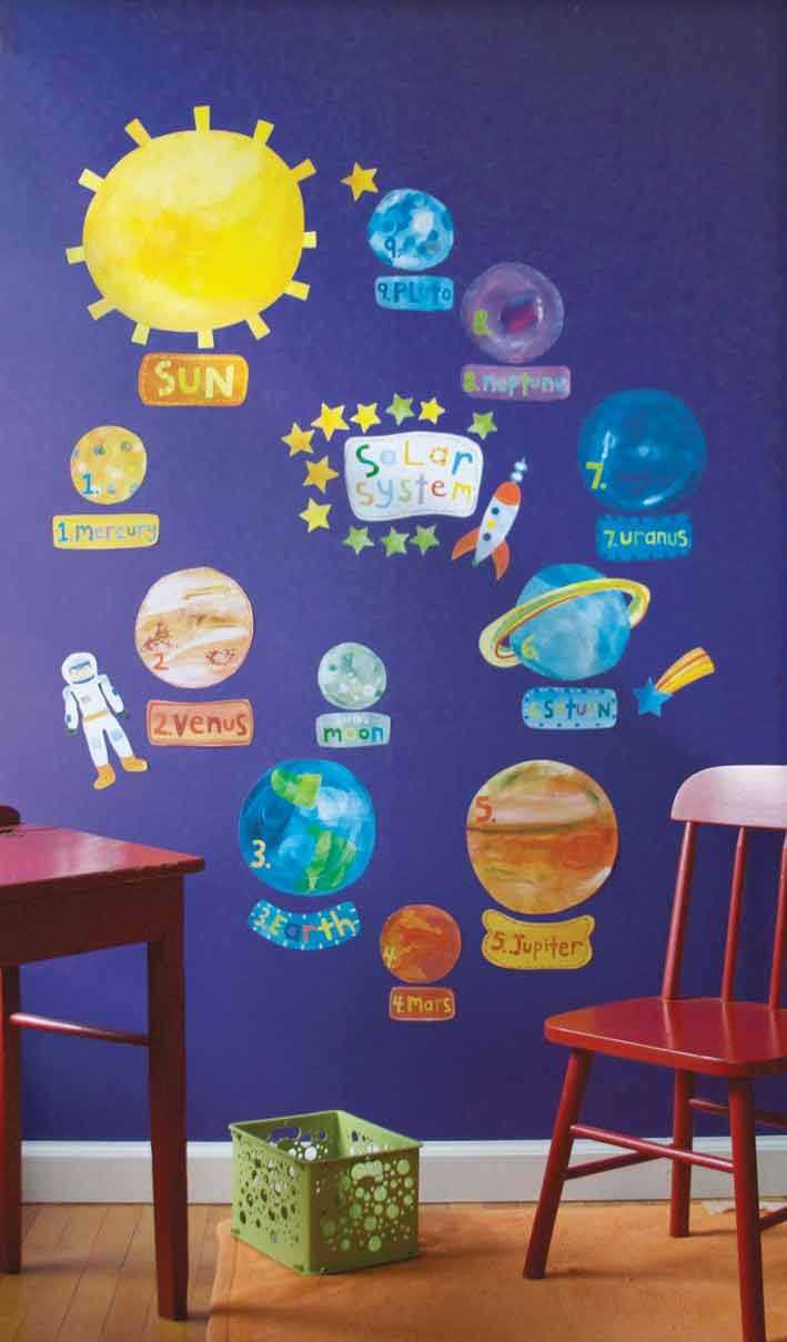 space theme wall stickers - Bing Images