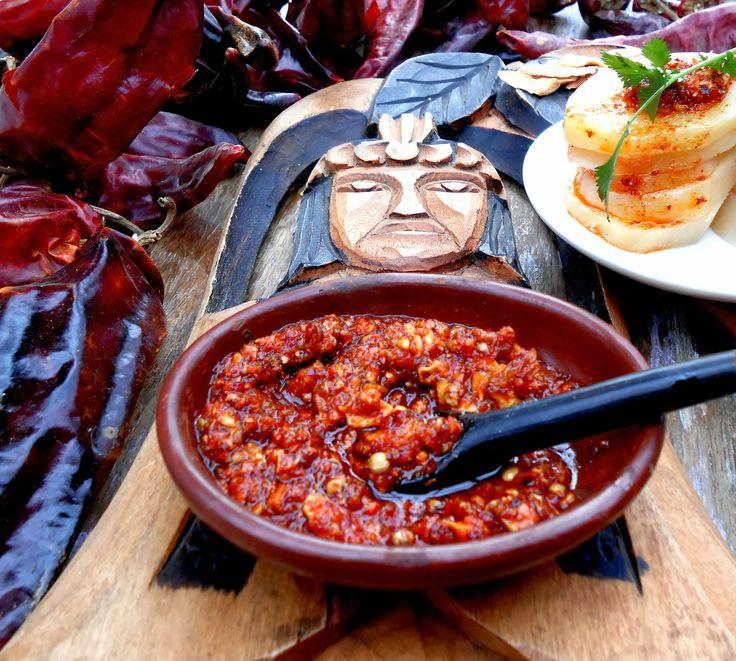 Condimento autóctono mapuche Merkén.  Un ají de color rojo cobrizo y de sabor ligeramente ahumado y picante,ancestral aliño nativo d...
