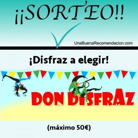 SORTEO CARNAVAL DON DISFRAZ