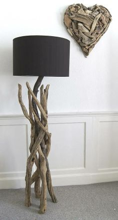 Holz Lampe