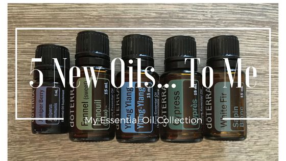 5 New Oils... To Me