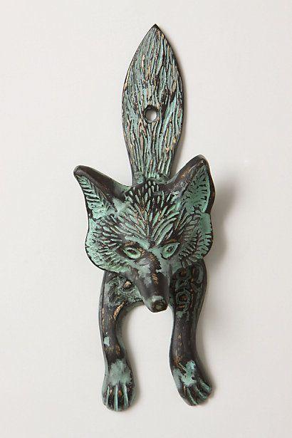 Sly Fox Knocker - anthropologie.com