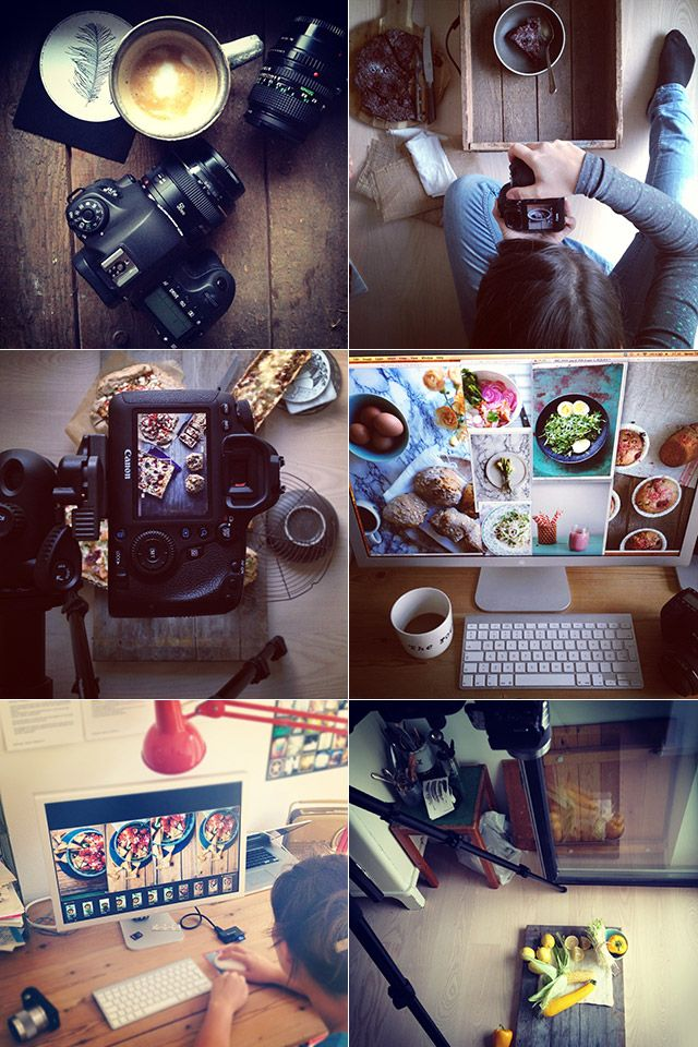 Food photography styling, etc.