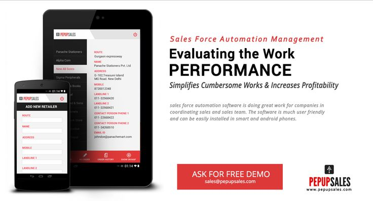 Evaluating the work performance #SalesForceAutomation www.pepupsales.com