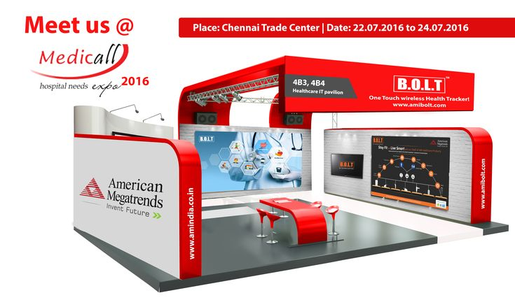 Meet Us @ Medicall Expo 2016  India's Largest Medical Equipment Expo  We invite you to visit us @ stall numbers: 4B3, 4B4 in Healthcare IT pavilion Place: Chennai Trade Center  Date: 22-07-2016 to 24-07-2016