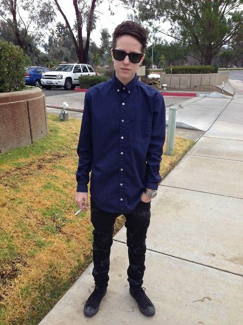 #tomboy fashion