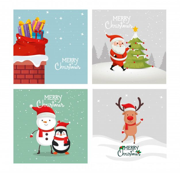 Pin By Vector Kh On Free Graphic Template Free Animated Christmas Cards Christmas Cards Handmade Diy Business Christmas Cards