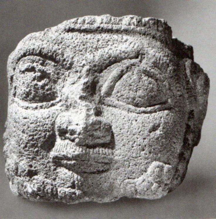 Hittite, head Kululu-Kayseri (Kurt Bittel) (Erdinç Bakla archive)