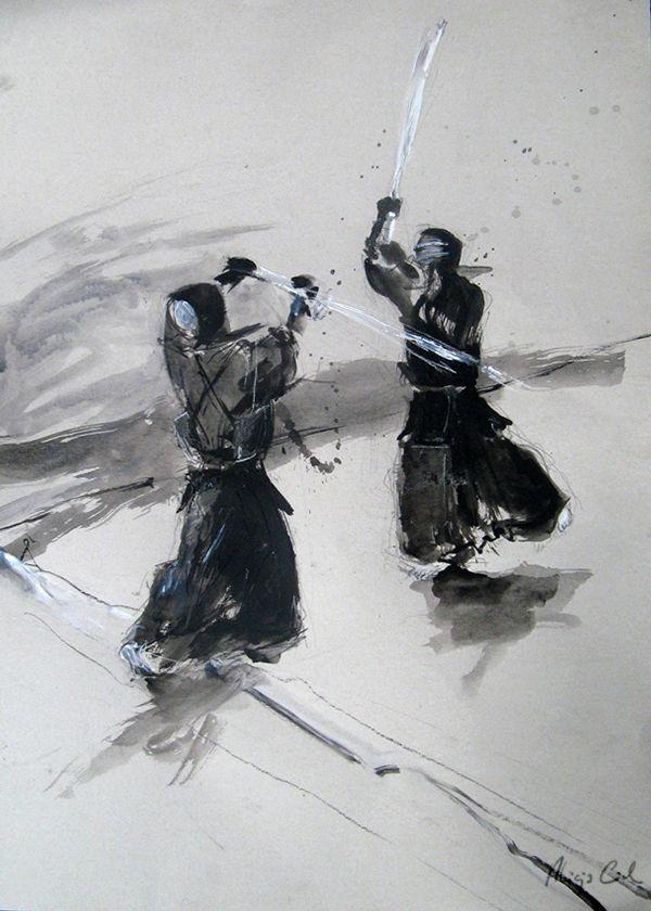 ART OF KENDO - drawings on Behance