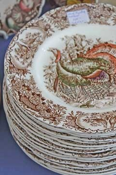 Vintage Wild Turkey Native American Windsor Ware. I just bought 14 of these gorgeous dinner plates at an amazing price!