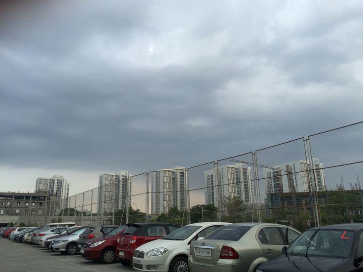 #clouds #buildings