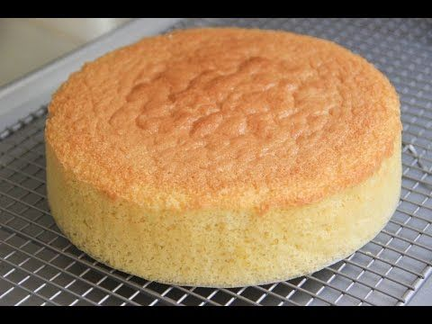 Japanese Sponge Cake Recipe Video