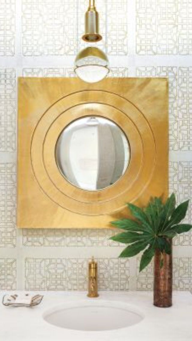 Feng shui luxury bathroom spaces round mirror is good feng shui for harmony and balance - Cannon bullock wallpaper ...