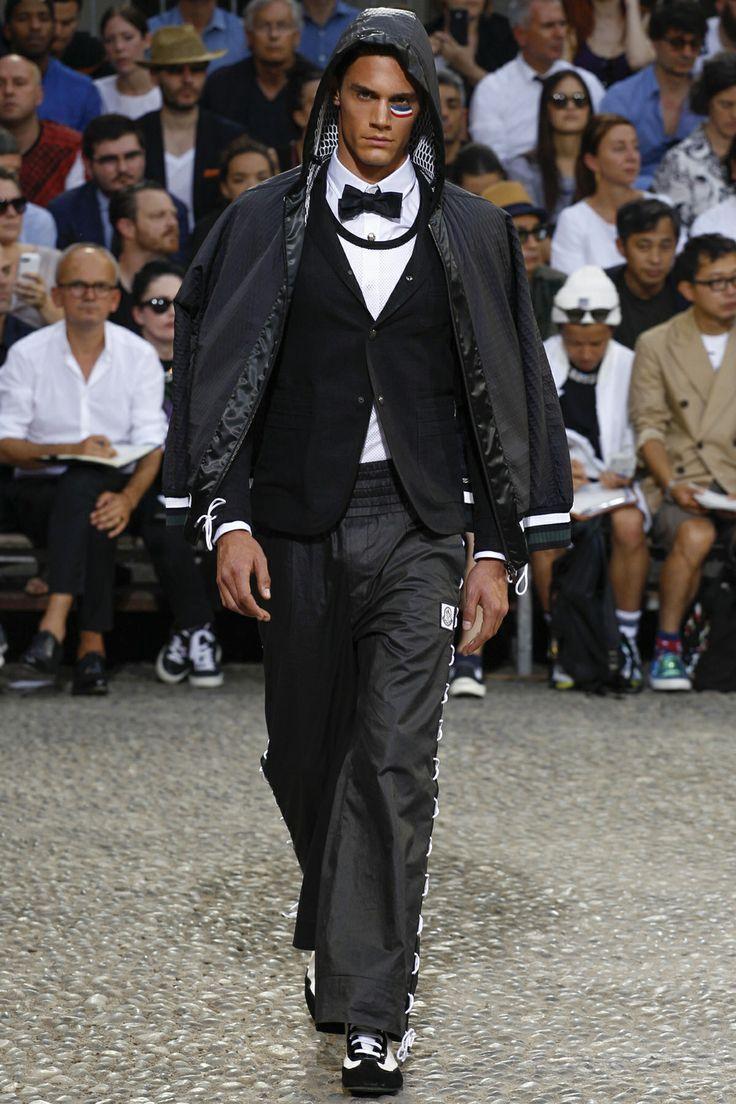 Moncler Gamme Bleu Spring-Summer 2015 Show  #moncler #gammebleu #ss15 #mfw #milan #fashionweek