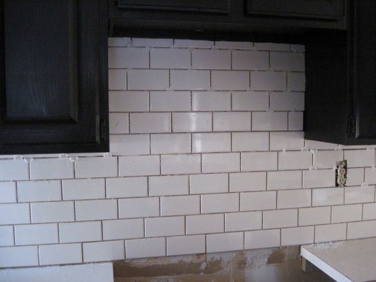 Interior Ideas Marvellous Ceramic Subway Tile Kitchen Backsplash By White Tile