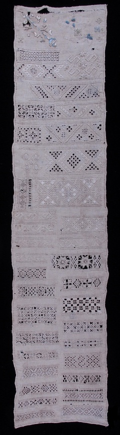 The Bowes Museum: Sampler c.1725