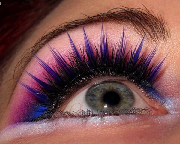 7 best images about Blue Fake Eyelashes on Pinterest   Pink blue ...