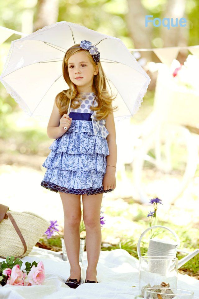 Foque primavera-verano 2015. Moda infantil clásica.