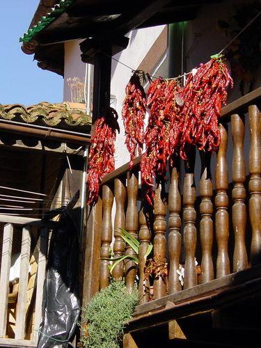 Balcon de Guindillas de Losar de la Vera Caceres Spanje  #Spanje #Caceres #reizen