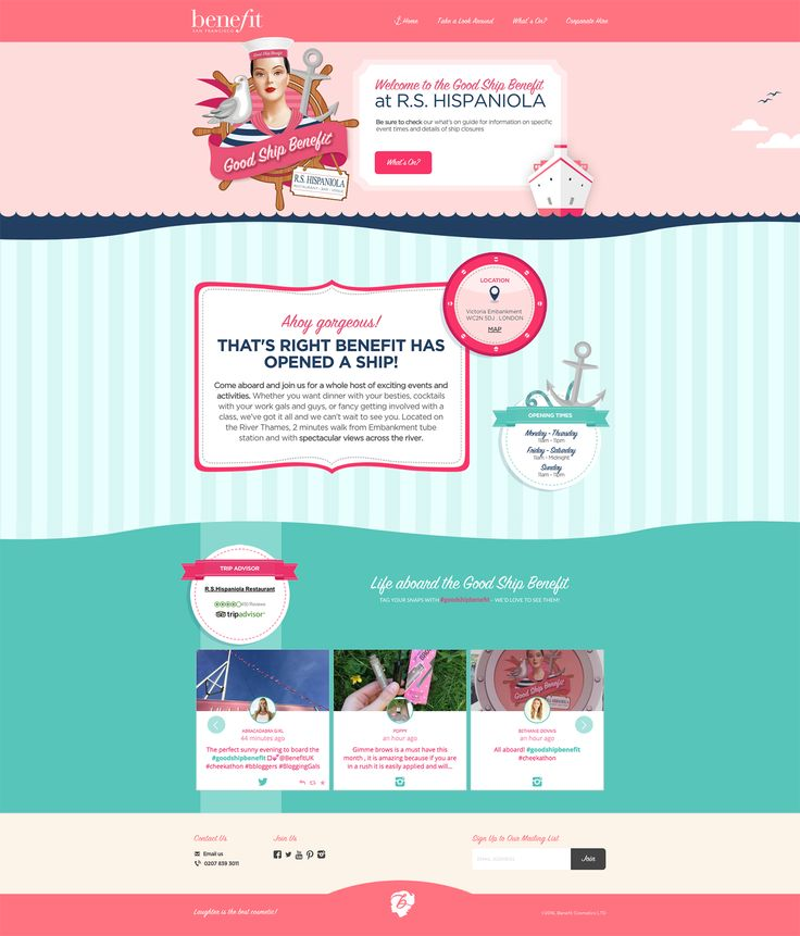 Professional web design kitsch