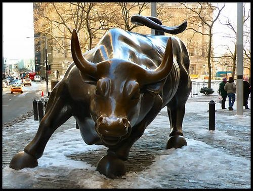 Bull of Wall St