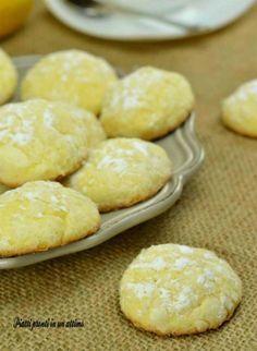 biscotti morbidissimi al limone agost