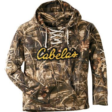 Cabelas camo lace up hoodie hunting pinterest for Cabela s fishing shirts