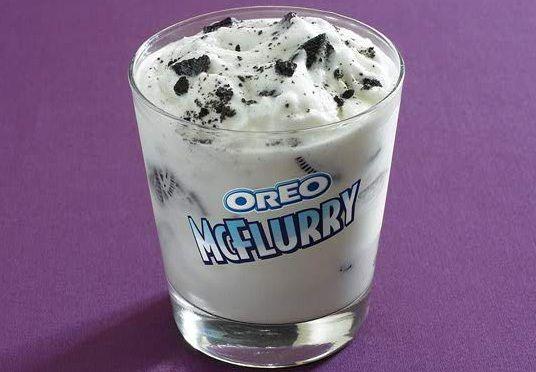 6. Oreo McFlurry!