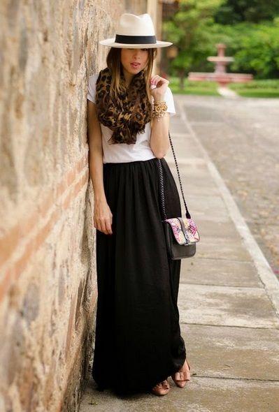 looks con sombreros de colores 2015 | ActitudFEM