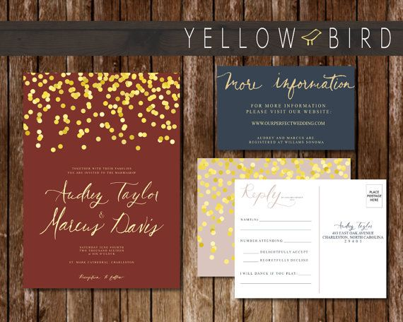 The Audrey Collection Is All About Timeless Elegance Of Wedding Invitation