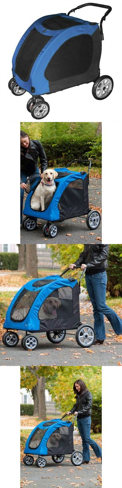 Strollers 116380: X-Large Dog Stroller Carriage Jogger Holds Up To 125 Lbs Folds Flat Pet Supplies -> BUY IT NOW ONLY: $198.95 on eBay!