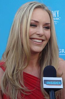 Lindsey Vonn, the most successful American skier in the history of alpine skiing