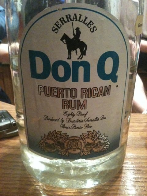 Rum from Puerto Rico: Don, My Island